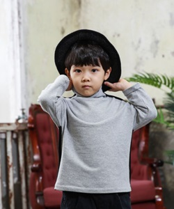 MINI CABINET - BRAND - Korean Children Fashion - #Kfashion4kids - Turtleneck T