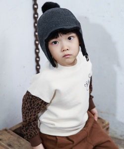MINI CABINET - BRAND - Korean Children Fashion - #Kfashion4kids - Leopard T