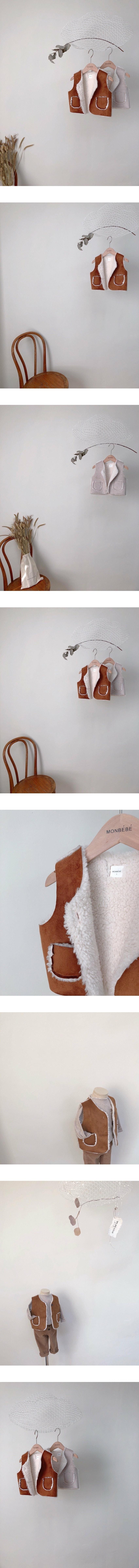MONBEBE - Korean Children Fashion - #Kfashion4kids - Mustang Vest
