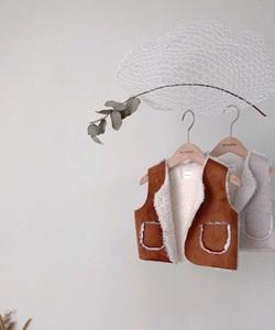 MONBEBE - BRAND - Korean Children Fashion - #Kfashion4kids - Mustang Vest