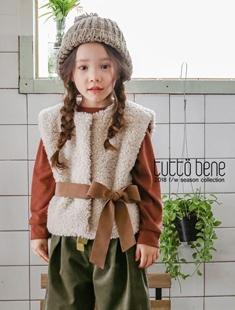 TUTTO BENE - BRAND - Korean Children Fashion - #Kfashion4kids - Ribbon Vest