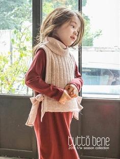 TUTTO BENE - BRAND - Korean Children Fashion - #Kfashion4kids - Knit Vest
