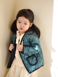 WANDOOKONG - BRAND - Korean Children Fashion - #Kfashion4kids - Waffle Nobim Padding Jumper