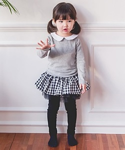 WANDOOKONG - BRAND - Korean Children Fashion - #Kfashion4kids - Bombom Skirt Leggings