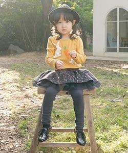 WANDOOKONG - BRAND - Korean Children Fashion - #Kfashion4kids - Jane Flower Skirt Leggings