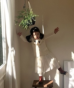 WANDOOKONG - BRAND - Korean Children Fashion - #Kfashion4kids - Outer Brushed Cancan Long Skirt Leggings