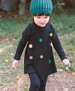 WANDOOKONG - BRAND - Korean Children Fashion - #Kfashion4kids - Creamball Dress