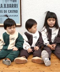 BANILLA STORY - BRAND - Korean Children Fashion - #Kfashion4kids - Half Top Bottom Set