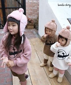 BANILLA STORY - BRAND - Korean Children Fashion - #Kfashion4kids - Panda Tee
