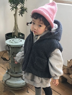 CONCOCTER - BRAND - Korean Children Fashion - #Kfashion4kids - Mongle Reversible Vest