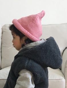 CONCOCTER - BRAND - Korean Children Fashion - #Kfashion4kids - Rolling Knit Hat