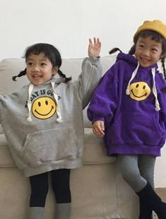 CONCOCTER - BRAND - Korean Children Fashion - #Kfashion4kids - Smile Hood T