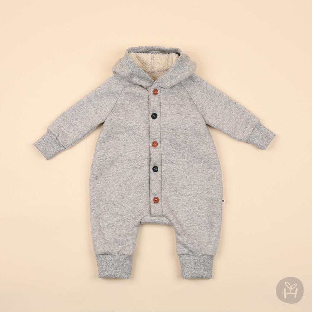 HAPPY PRINCE - Korean Children Fashion - #Kfashion4kids - Denver Hood Coveralls - 2