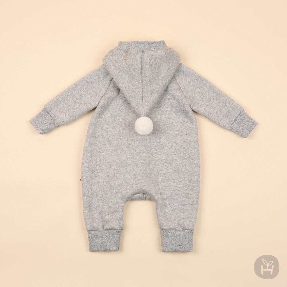 HAPPY PRINCE - Korean Children Fashion - #Kfashion4kids - Denver Hood Coveralls - 3
