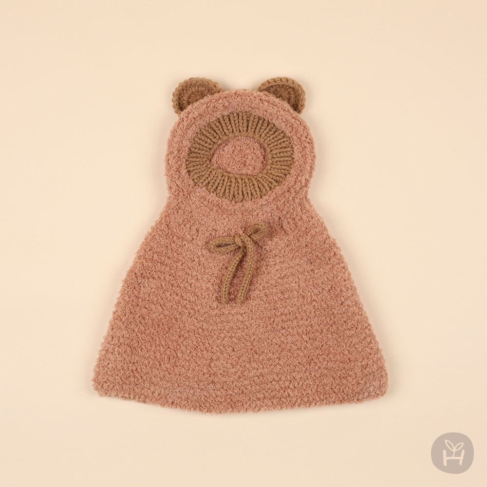HAPPY PRINCE - Korean Children Fashion - #Kfashion4kids - Onia Bear Knitting Cape - 3