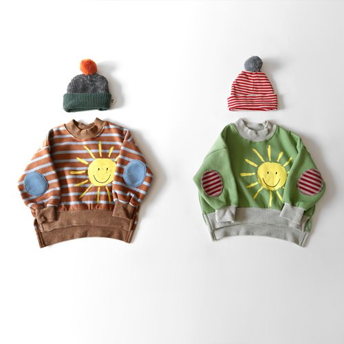 HETZEBEBE - BRAND - Korean Children Fashion - #Kfashion4kids - Happy Sun Nap MTM