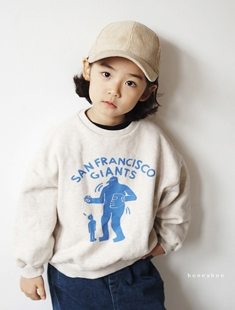 HONEYBEE - BRAND - Korean Children Fashion - #Kfashion4kids - Baseball Tee