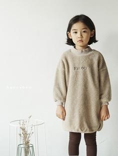 HONEYBEE - BRAND - Korean Children Fashion - #Kfashion4kids - Warm Long Tee