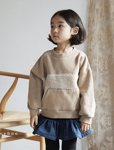 HONEYBEE - BRAND - Korean Children Fashion - #Kfashion4kids - Warm Color Tee