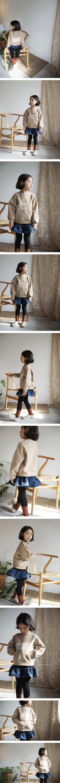HONEYBEE - Korean Children Fashion - #Kfashion4kids - Denim Skirt Leggings
