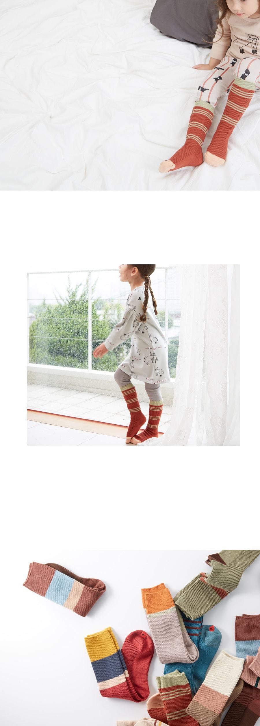 KOKACHARM - Korean Children Fashion - #Kfashion4kids - Red Panda Socks - 3