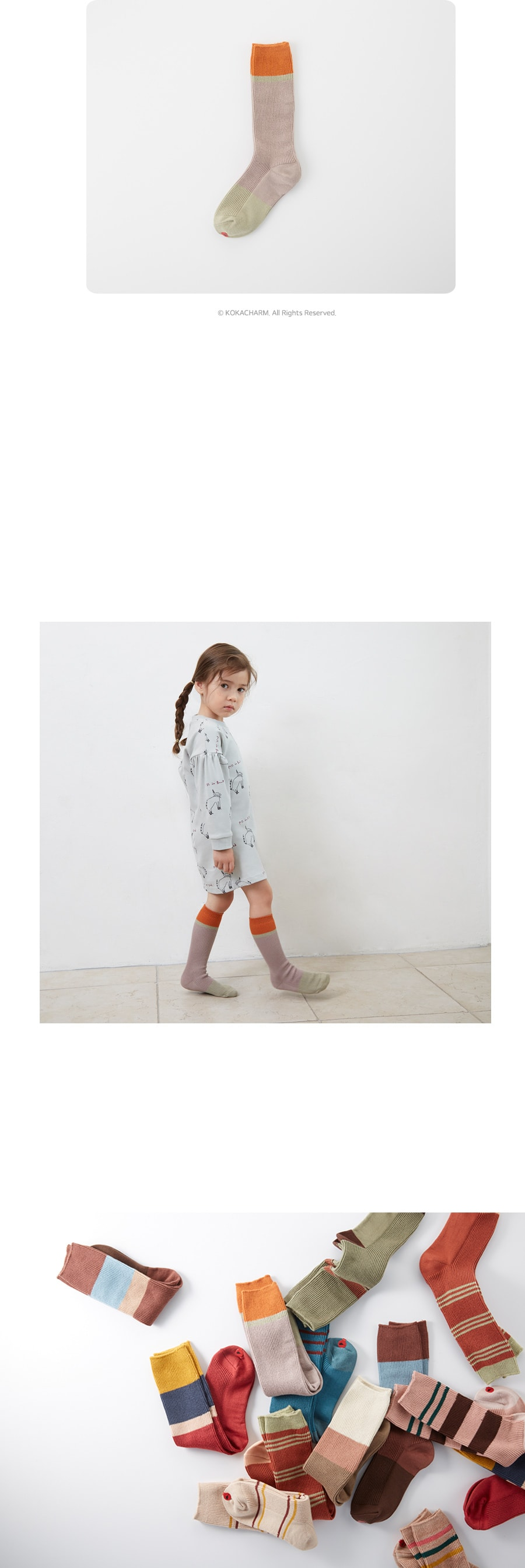 KOKACHARM - Korean Children Fashion - #Kfashion4kids - Deer Socks - 4