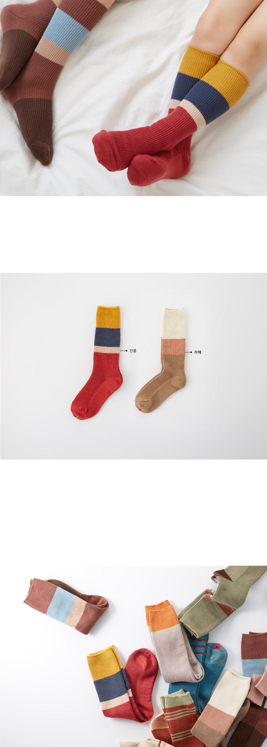 KOKACHARM - Korean Children Fashion - #Kfashion4kids - Maple Socks - 3