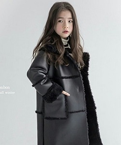 LE BONBON - BRAND - Korean Children Fashion - #Kfashion4kids - Royal Mustang Jacket