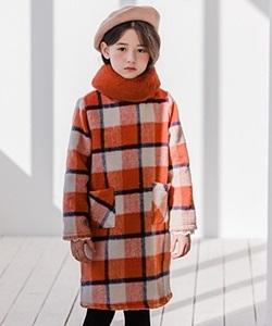 LE BONBON - BRAND - Korean Children Fashion - #Kfashion4kids - Check Dress