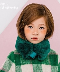 LE BONBON - BRAND - Korean Children Fashion - #Kfashion4kids - Eco Mink Muffler