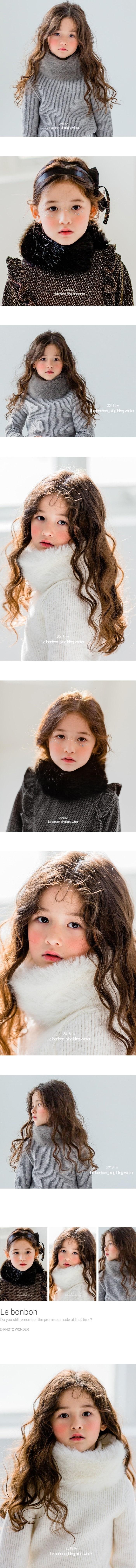 LE BONBON - Korean Children Fashion - #Kfashion4kids - Eco Fox Muffler