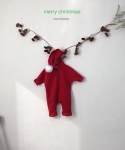 MONBEBE - BRAND - Korean Children Fashion - #Kfashion4kids - Red Fox Hood Suit