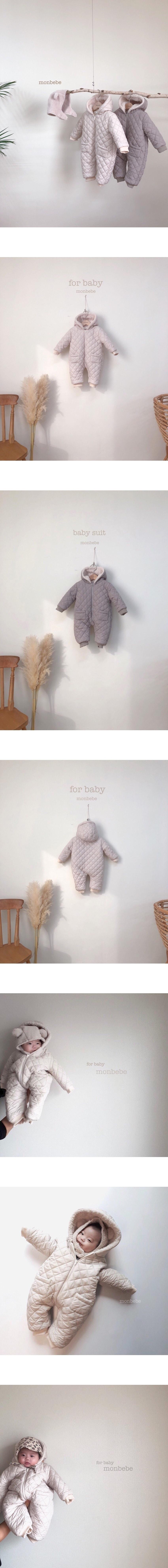 MONBEBE - Korean Children Fashion - #Kfashion4kids - Napping Winter Suit