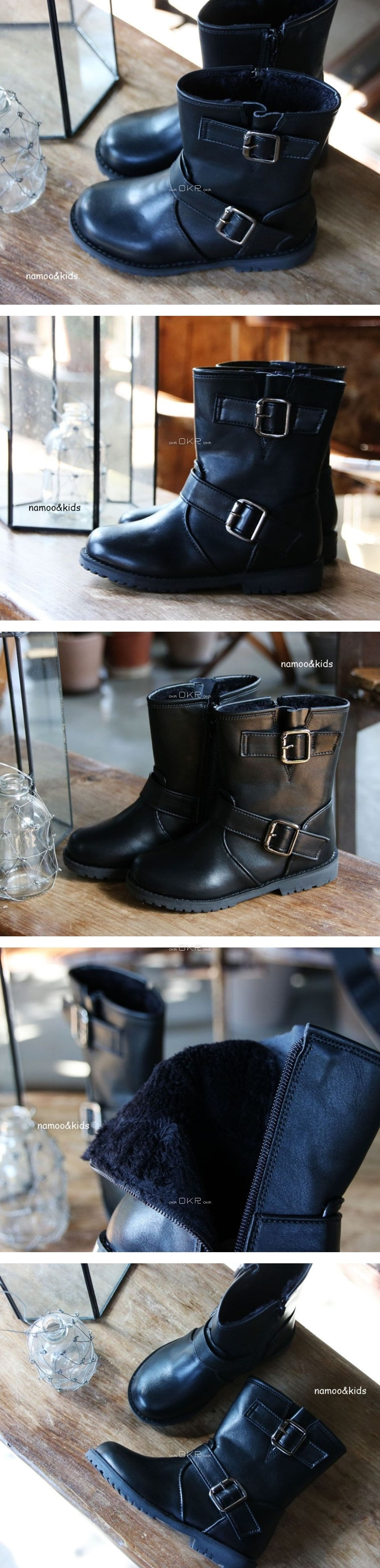 NAMOO & KIDS - Korean Children Fashion - #Kfashion4kids - Lyle Roosebelt Boots