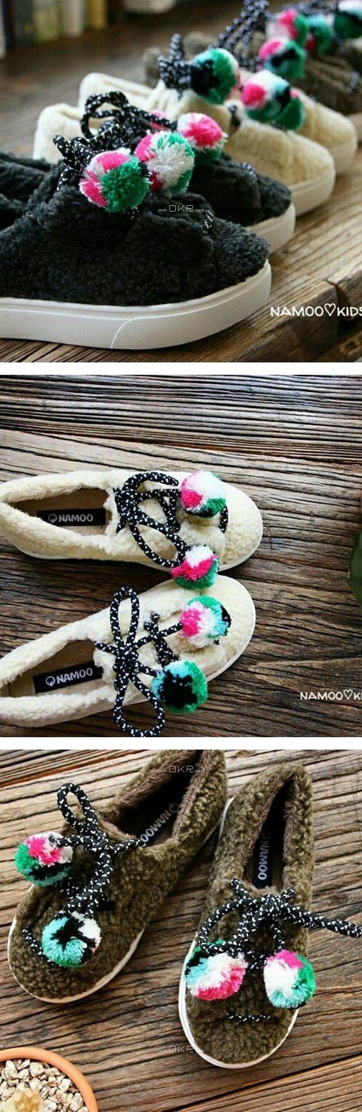 NAMOO & KIDS - Korean Children Fashion - #Kfashion4kids - Sheep Sneakers