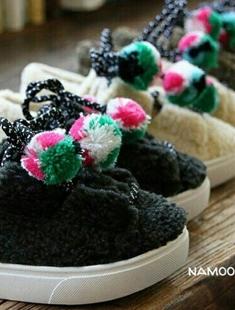 NAMOO & KIDS - BRAND - Korean Children Fashion - #Kfashion4kids - Sheep Sneakers