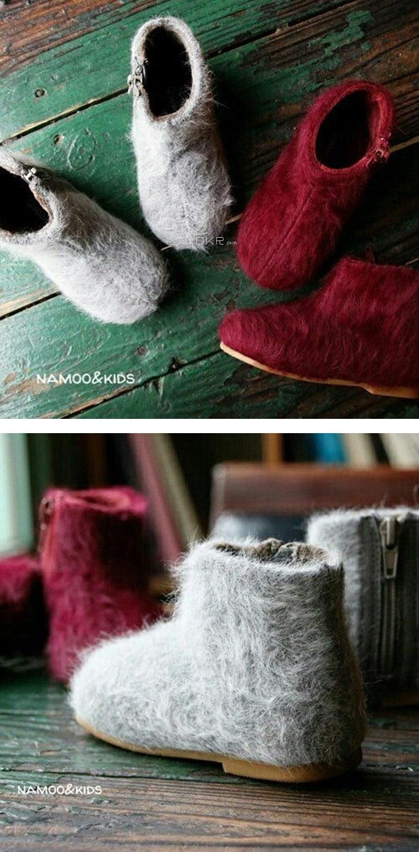 NAMOO & KIDS - Korean Children Fashion - #Kfashion4kids - Shushu Angora Slip-on