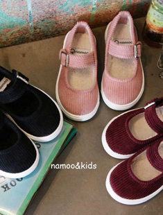 NAMOO & KIDS - BRAND - Korean Children Fashion - #Kfashion4kids - Corduroy Candy Slip-on