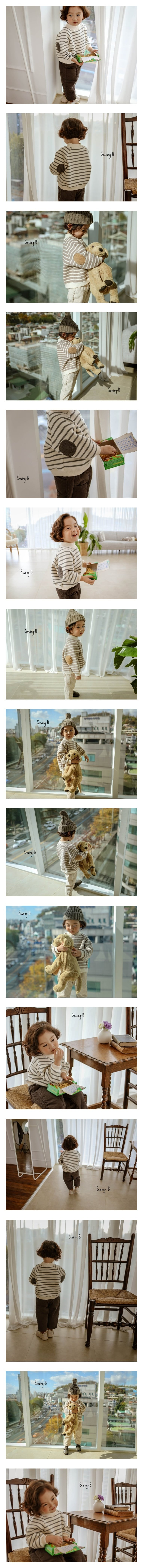 SEWING-B - Korean Children Fashion - #Kfashion4kids - Stripe MTM