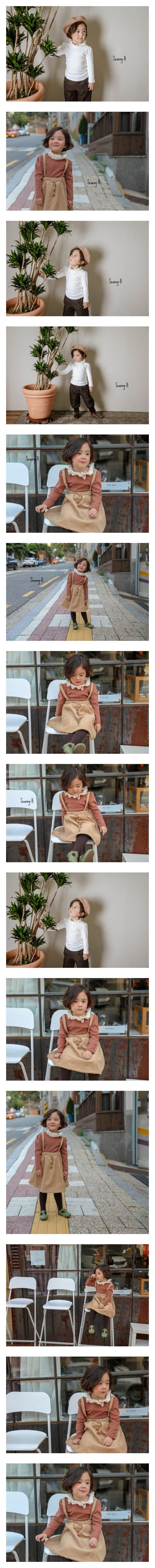 SEWING-B - Korean Children Fashion - #Kfashion4kids - Stan Ruffle Tee