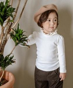 SEWING-B - BRAND - Korean Children Fashion - #Kfashion4kids - Stan Ruffle Tee