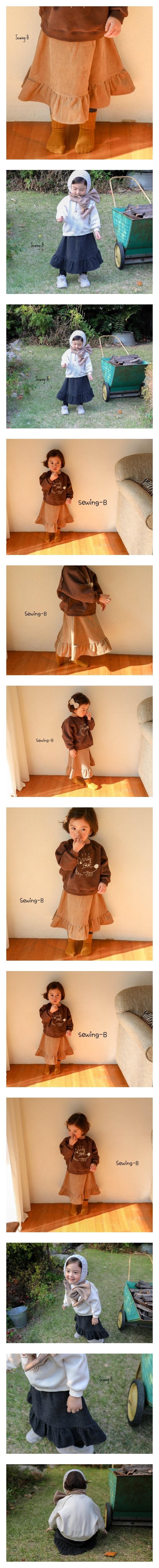 SEWING-B - Korean Children Fashion - #Kfashion4kids - Cancan Skirt Leggings