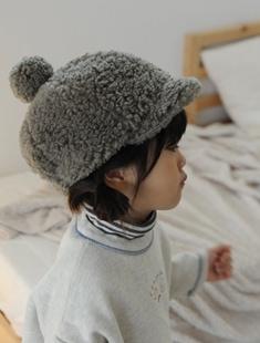 BUTTERCUP - BRAND - Korean Children Fashion - #Kfashion4kids - Wool Fleece Mini Cap