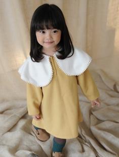 BUTTERCUP - BRAND - Korean Children Fashion - #Kfashion4kids - Big Cape Dress