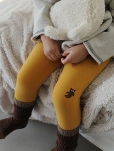 BUTTERCUP - BRAND - Korean Children Fashion - #Kfashion4kids - Gift Bear Leggings