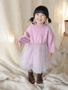 BUTTERCUP - BRAND - Korean Children Fashion - #Kfashion4kids - Pink Tutu Dress