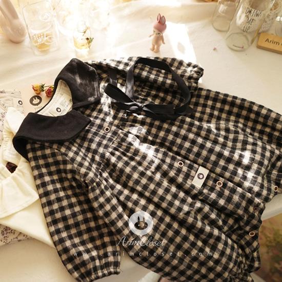 ARIM CLOSET - BRAND - Korean Children Fashion - #Kfashion4kids - Sailor Cotton Bodysuit