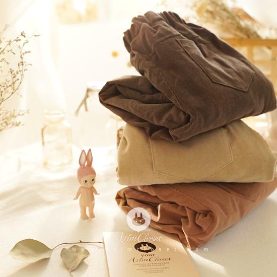 ARIM CLOSET - BRAND - Korean Children Fashion - #Kfashion4kids - Three Color Corduroy Pants