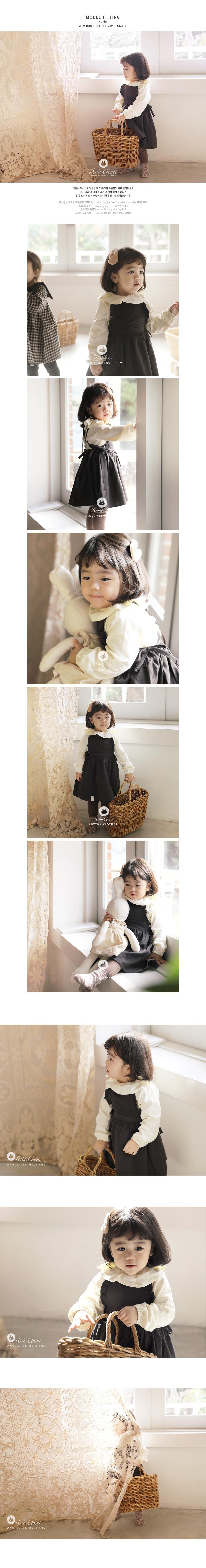 ARIM CLOSET - Korean Children Fashion - #Kfashion4kids - Lovely Flower Cotton Dress - 3