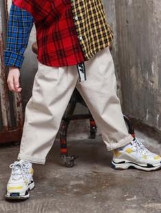 BLUR RUSH - BRAND - Korean Children Fashion - #Kfashion4kids - Belt Pants